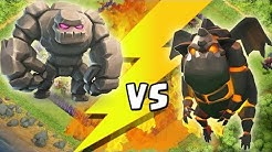 GOLEM vs LAVAHUND || CLASH OF CLANS - BATTLE || Let's Play CoC [Deutsch/German HD+]