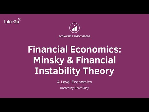 Financial Economics: Minsky and Financial Instability