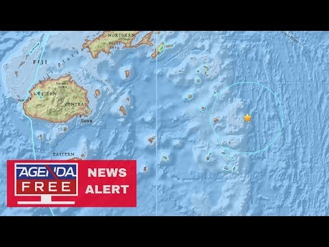 8.2 Earthquake Near Fiji - LIVE COVERAGE