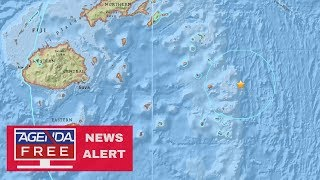 8.2 Earthquake Near Fiji - LIVE COVERAGE