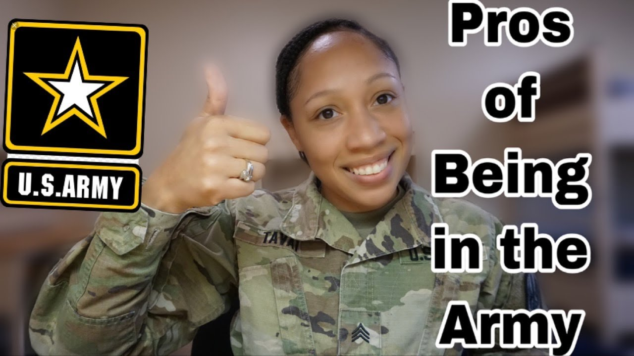 This is why you SHOULD join the Army?! The Pros of being