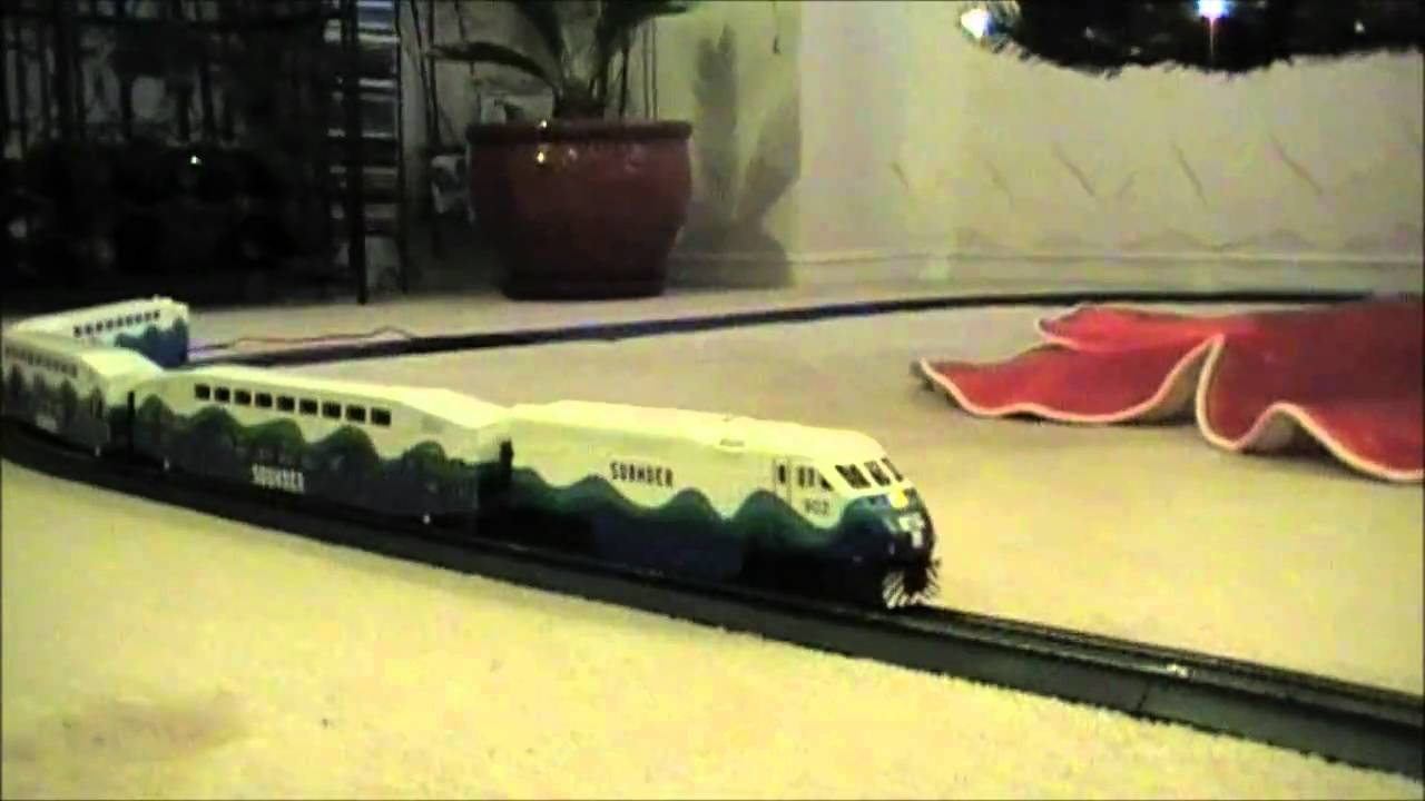 Train Around Christmas Tree