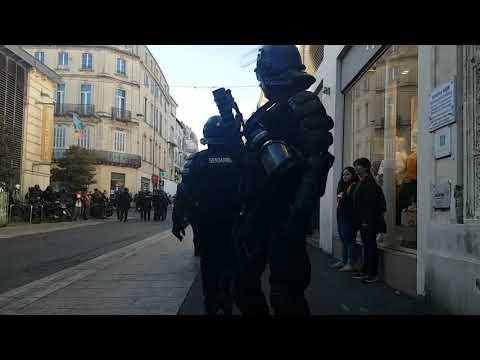 Acte 18 Montpellier répression