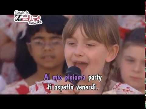Pigiama party - Concerto L'Aquila Zecchino d'Oro [Karaoke Version]