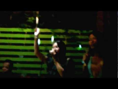 karaoke gai and noy in restuarant for bob mack