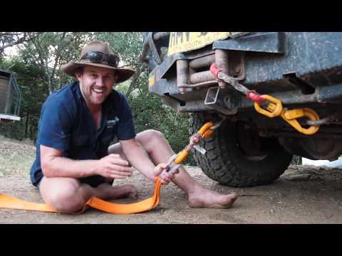 Roadsafe 4wd Soft Shackle review by Australian Naturalist Bill Collett