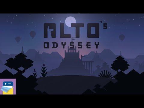 Alto's Odyssey: Sumara 222,560 Score & iOS iPad Pro Gameplay Walkthrough (by Snowman)