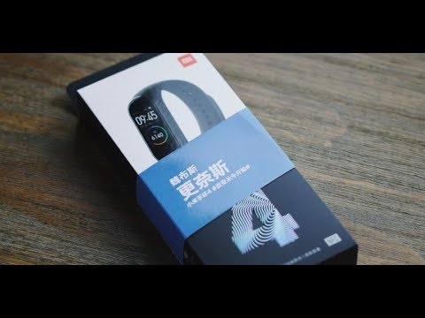 Xiaomi Mi Band 4 unboxing & review