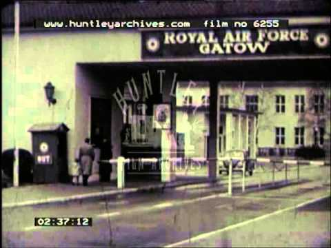 RAF Gatow Berlin, 1950's -- Film 6255