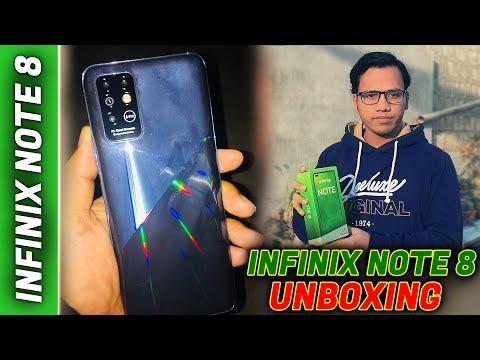 Infinix Note 8 Unboxing 2021 2