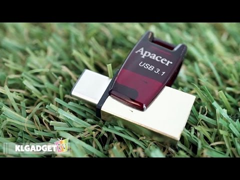 Apacer AH180 USB 3.1 Dual Flash Drive | Gadget Quickie #003