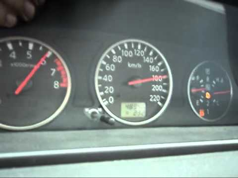 Nissan X-Trail 2.5 Top Speed test - YouTube