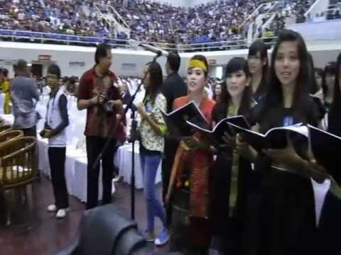 "Lagu ""Salam Damai"". Misa Agung Merangkai Syukur Keuskupan Agung Plg Minggu 27 ..."