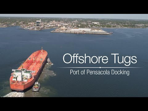 Offshore Tugs Port of Pensacola Docking Demo