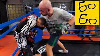Артем Тарасов против Шталя — спарринг по боксу и борьба в партере! Тренировка по боксу для бойца MMA
