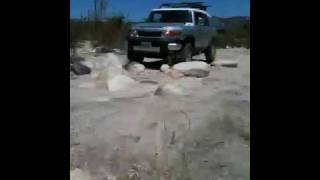 FJ Cruiser off roading Pala, California