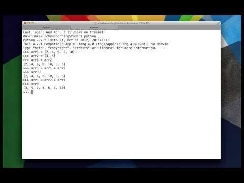 2 - Python Lists - Concat (+)