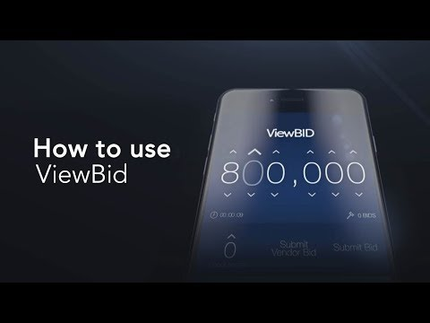 ViewBid App IOS: Android   How to a manage new listing