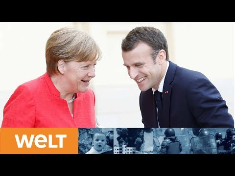 Reform der EU: So wollen Angela Merkel und Emmanuel Macron Europa voranbringen