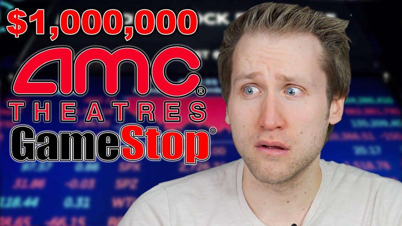 How AMC & Gamestop Stocks Made Me Lose $1,000,000?!