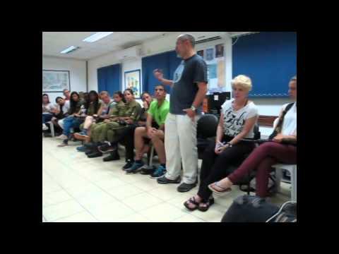 David Hunt  IDF navy event
