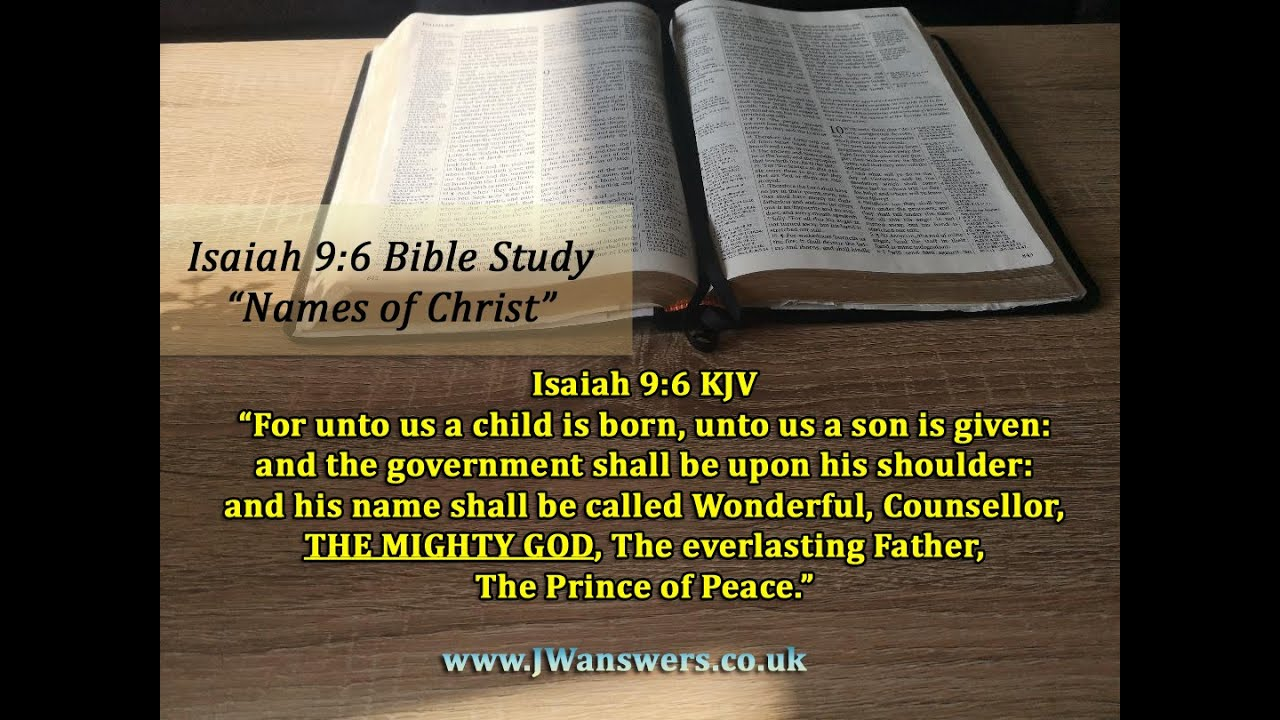 """Isaiah 9:6 - Part 3 of 5: """"THE MIGHTY GOD"""" - YouTube"""
