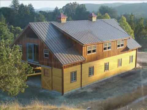 Barn pros providing pre fab barns barn homes arenas for Pre built barn homes