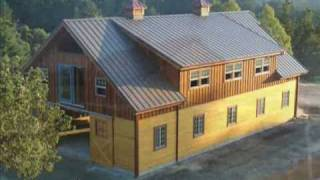 Barn Pros - providing pre-fab barns, barn homes, arenas, shops and garages