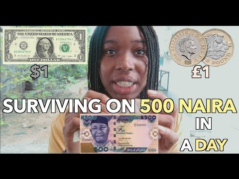 Surviving On 500 Naira In 24 Hours In Nigeria