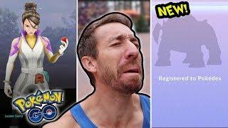I FINALLY CAUGHT THIS POKEMON! (Pokémon GO)