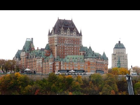 Full Hotel Tour and Review of the Fairmont Le Chateau Frontenac in Quebec City, Quebec, Canada