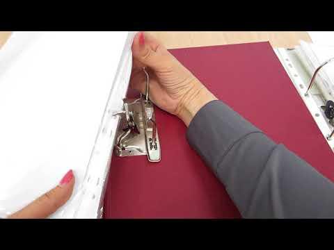 Как закрыть папку с арочным механизмом