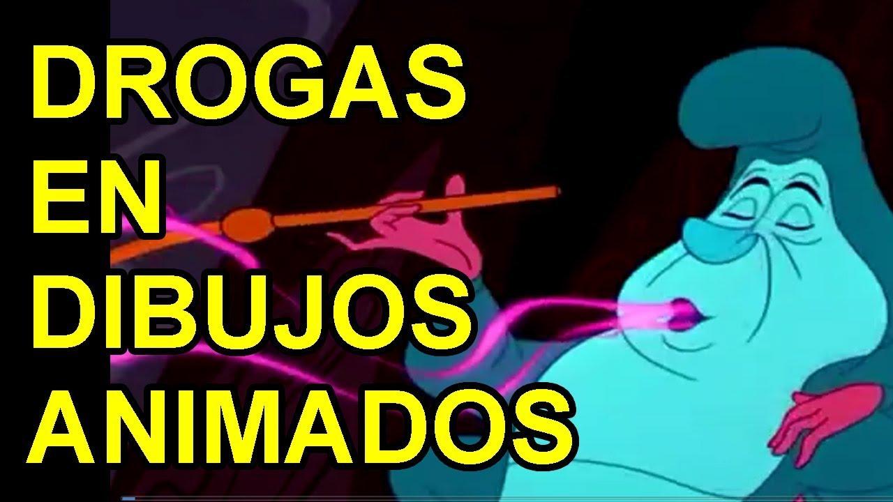 DROGAS EN DIBUJOS ANIMADOS