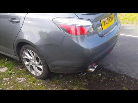 "MG6 2"" Cat Back Stainless Steel Exhaust System"