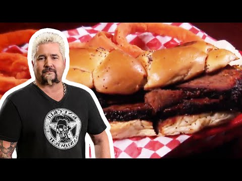 Bun 'n' Barrel Texas Brisket | Food Network