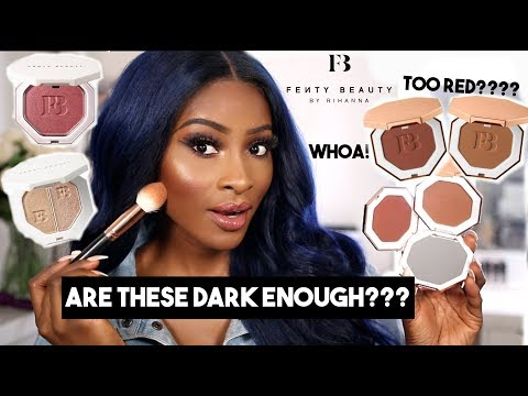 FENTY BEAUTY SUN STALKR BRONZERS...DO WE ALL GET A SHADE???