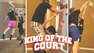 The most humiliating Basketball Mini-Hoop video on Youtube...