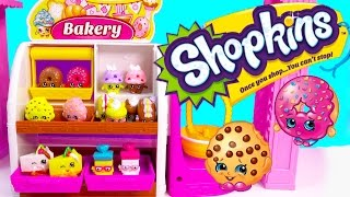Shopkins COLLECTION TOUR Season 1 All Bakery Part 3 Playset Video Cookieswirlc Ultra Rare Toys