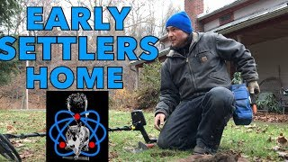 Metal Detecting Whites MX Sport Early Settlers Home