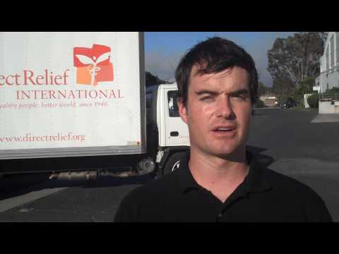 Helping First Responders in the Santa Barbara Jesusita Fire Zone