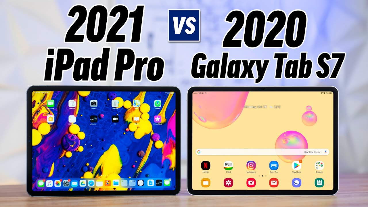 Best Samsung Tablet 2021 2021 iPad Pro vs Galaxy Tab S7   Leaks & Rumors!   YouTube