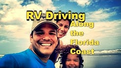 Driving the RV along the Florida Coast - Daytona Beach to Jacksonville - A1A