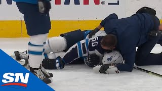 Mark Scheifele Injured & Leaves Game After Awkward Collision With Matthew Tkachuk