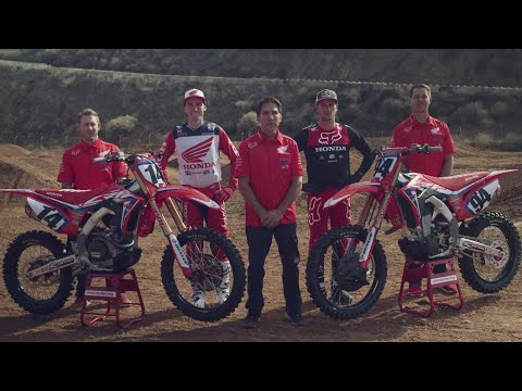 2019 Team Honda Hrc Team Video Youtube