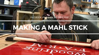 What is a Mahl stick (and why you need one)