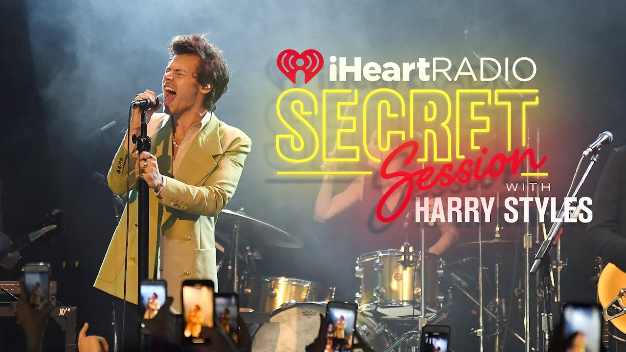 Inside Look At Harry Styles iHeartRadio Secret Session