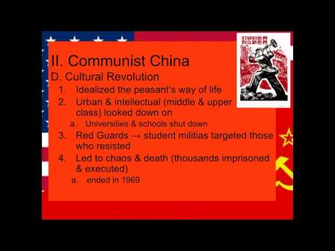 Spread of Communism & Failure of Containment