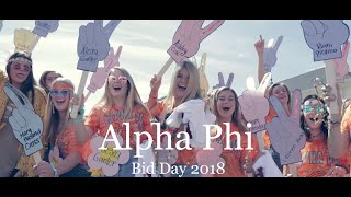 Alpha Phi Ole Miss - Bid Day 2018