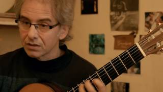 PINO ENRIQUEZ - El tango y sus posibilidades: tangos para guitarra sola (english and french sub)