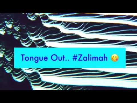 Tongue Out.. #Zalimah 😜
